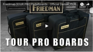 Friedman Amplification Unveils Tour Pro Series Pedal Boards